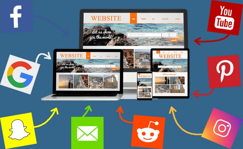 Your website is your foundation for your marketing efforts